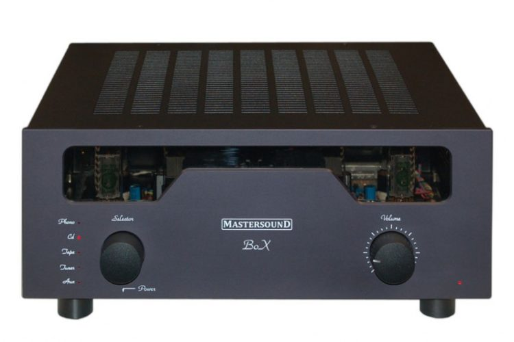 MastersounD boX amplificatore integrato stereo