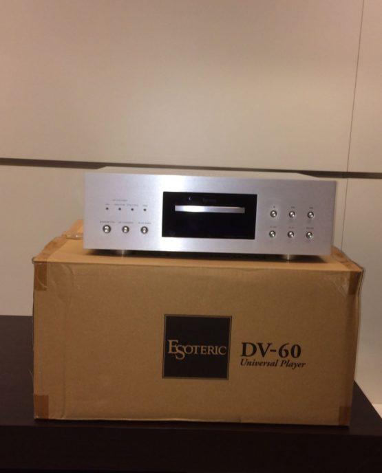 Esoteric | DV-60 Lettori Universali CD/SACD/DVD/DVD Audio Serie DV