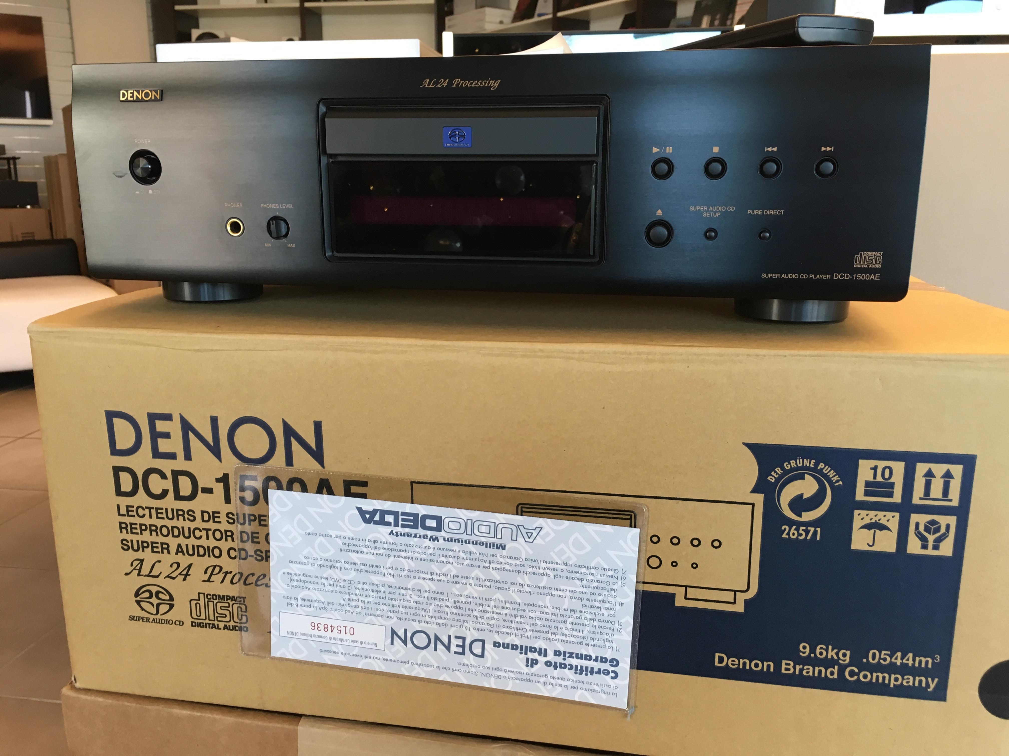OCCASIONE DCD 1500 DENON LETTORE CD /SACD
