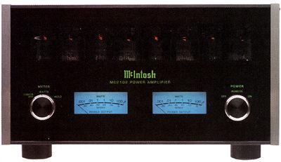 OCCASIONE AMPLIFICATORE FINALE A VALVOLE 100 WATTS PER CANALE MCINTOSH MC 2102