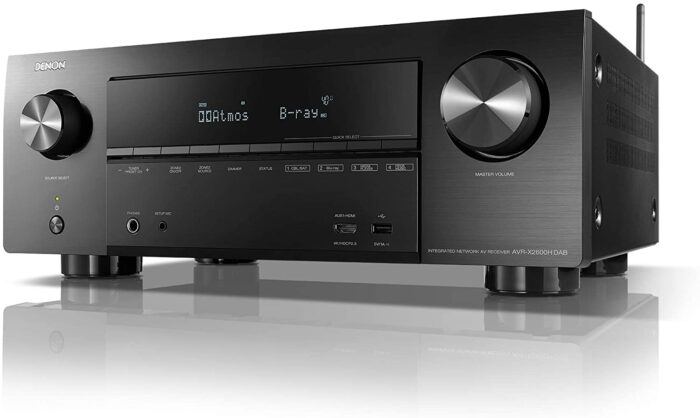 Sintoamplificatore AV 7.2 canali 4K Ultra HD con Audio 3D, DAB+ e HEOS Built-in®