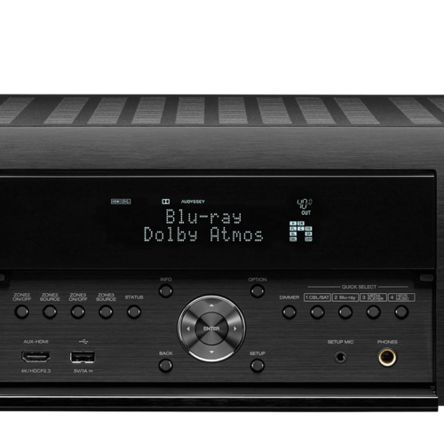AMPLIFICATORE AUDIO VIDEO 8K AUDIO 3D 9.2 CANALI DENON AVC-X4700 H