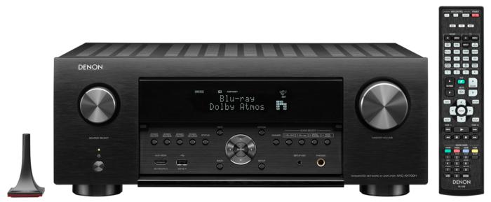 AMPLIFICATORE AUDIO VIDEO 8K AUDIO 3D 9.2 CANALI DENON AVC-X4700 H